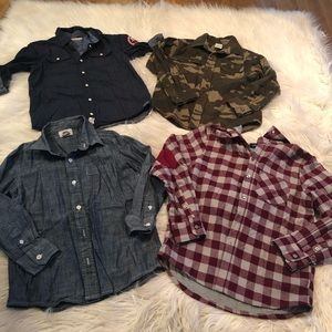 Boys button up bundle